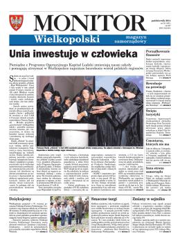 październik 2014 - Monitor Wielkopolski