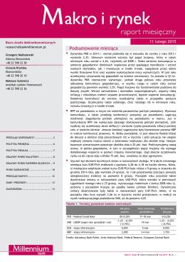 Luty 2015 - Bank Millennium