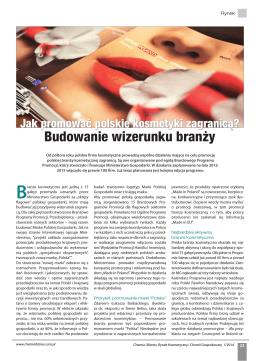 Budowanie wizerunku branży - Polishcosmetics.pl