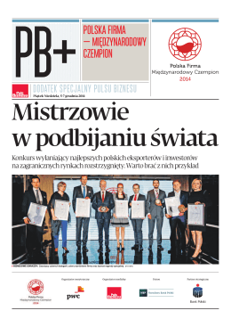 Polska Firma - Międzynarodowy Czempion
