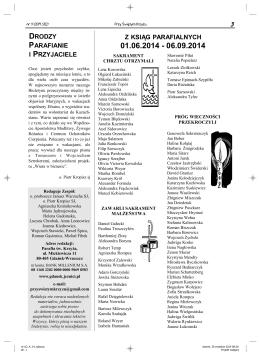 wersja pdf - Parafia św. Krzyża w Gdańsku