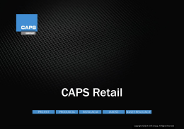 CAPS Retail - CAPS Group