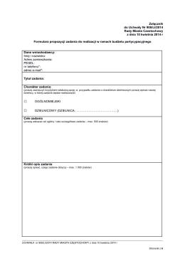 tutaj - Konsultacje Społeczne Częstochowa