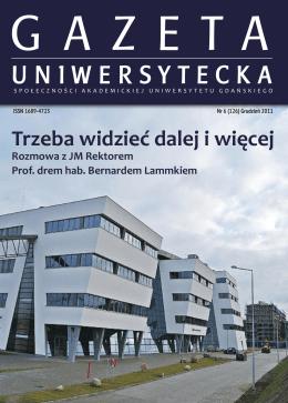 Nr 6 (126) Grudzień 2011 - Gazeta Uniwersytetu Gdańskiego