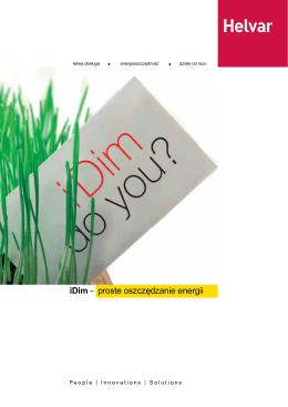 iDim - proste oszczędzanie energii