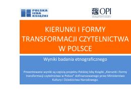 Badanie etnograficzne, raport OPI PIB