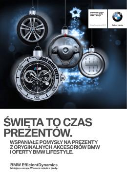 ŚWIĘTA TO CZAS PREZENTÓW. - BMW Bawaria Motors Katowice