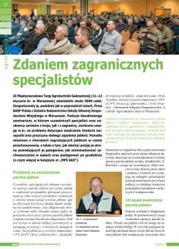 Zobacz więcej - Międzynarodowe Targi Agrotechniki Sadowniczej