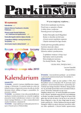 Kalendarium - Choroba Parkinsona