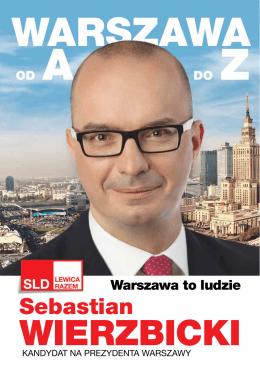 Warszawa A do Z - Sebastian Wierzbicki