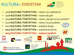 Prezentacja cyklu Kultura i Turystyka