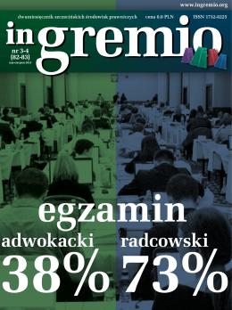 nr 3-4 - Okręgowa Rada Adwokacka w Szczecinie