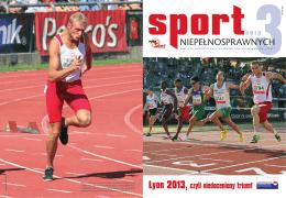 Sport Niepełnosprawnych 3/2013