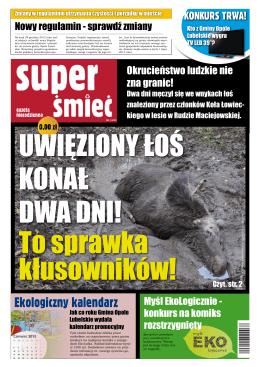 """""""Super Śmieć"""" - gazeta niecodzienna / Nr 2"""