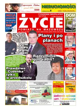 Plany i po planach - Życie Powiatu na Mazowszu