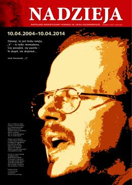 Raptularz 2014 - Fundacja im. Jacka Kaczmarskiego