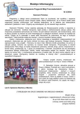 Biuletyn Informacyjny nr 5/2014