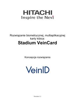 Biometria Finger Vein w zastosowaniu karty kibica