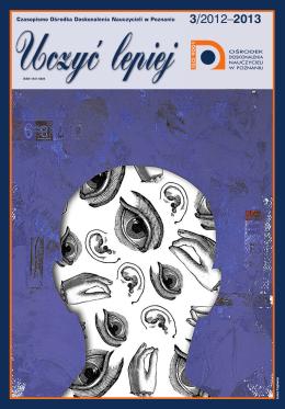 """""""Uczyć lepiej"""" 3/2012-2013 ( .pdf, 6 MB)"""