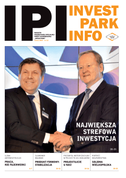 INVEST PARK INFO nr 2 - Wałbrzyska Specjalna Strefa Ekonomiczna