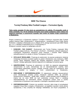 NIKE The Chance Turniej Finałowy Nike Football League
