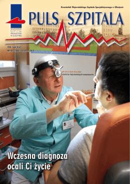 Wczesna diagnoza ocali Ci życie