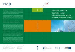 Innowacje w sektorze przemysłu energii odnawialnych – jak to robią