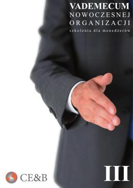 Katalog szkoleń Vademecum nowoczesnej organizacji cz.III Inne (.pdf)