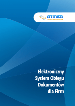 Elektroniczny System Obiegu Dokumentów dla Firm