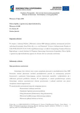 Zapytanie ofertowe (pdf)