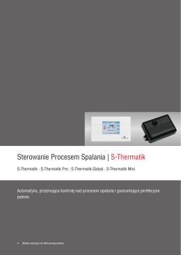 Sterowanie Procesem Spalania | S-Thermatik