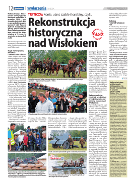 """wrzesień """"Rekonstrukcja historyczna nad Wisłokiem"""""""