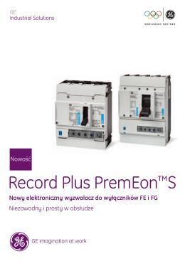 Record Plus PremEon™S