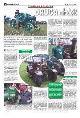 technika rolnicza - Klub Miłośników Starych Ciągników i Maszyn