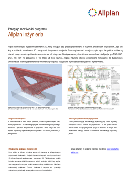 Allplan Inżynieria