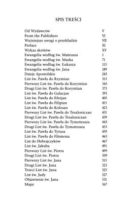 Nowy testament - najnowsze tłumaczenie z 2008 roku