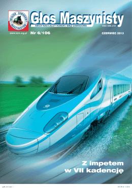 GM Nr 6/106 (Czerwiec 2013) - Związek Zawodowy Maszynistów