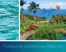 Podręcznik szkoleniowy Maui Jim