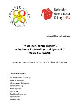 materiałem - Centrum Inicjatyw Senioralnych