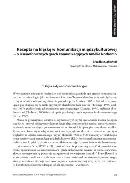 pobierz pdf / full text pdf - Polskie Towarzystwo Badania Gier