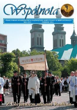Z Chrystusem ulicami Radlina - Parafia Wniebowzięcia Najświętszej