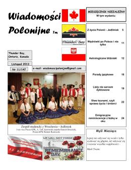 Wiadomosci Polonijne Tm