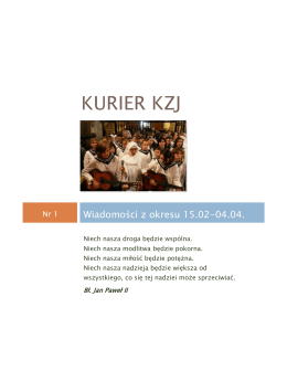 Kurier KZJ nr1 - WordPress.com