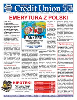 emerytura z polski - St. Stanislaus
