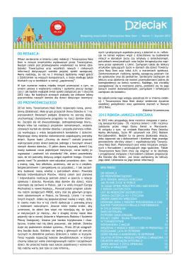Nr 1/2012 - Ośrodek Wsparcia Rodzinnej Opieki Zastępczej PORT
