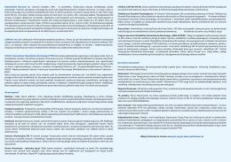 Stwardnienie Rozsiane łac. sclerosis multiplex /SM/ - to