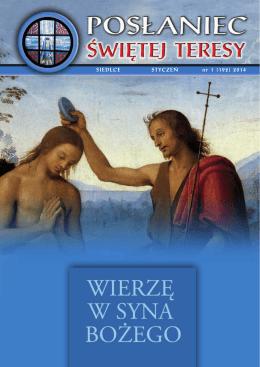 Styczeń 2014 - Parafia św.Teresy od Dzieciątka Jezus