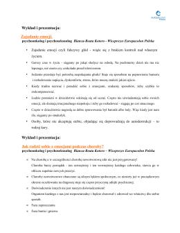 Wykład i prezentacja: