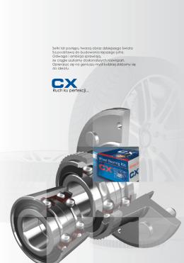 CX – łożyska