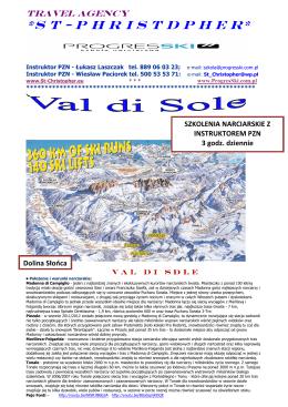 Oferta wyjazdu w Alpy 2012/2013